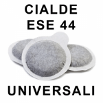 Cialde filtrocarta ESE 44 MM
